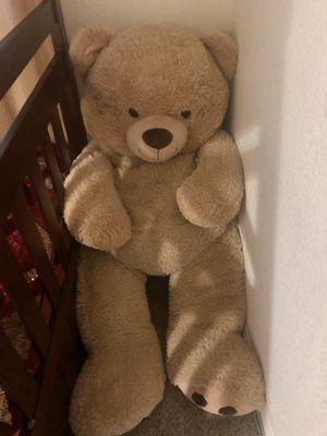 Big soft teddy bear for Sale in Turlock, CA