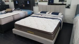 Bed frame with mattress $399 New for Sale in US