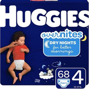 Huggies Overnites Diapers Size 4 for Sale in Rockville, MD