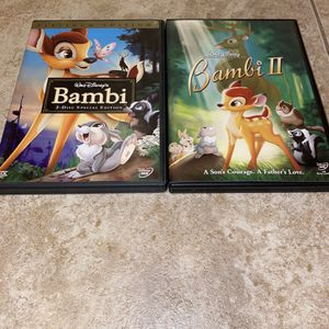 Bambi And Bambi 2 - DVDS for Sale in Phoenix, AZ