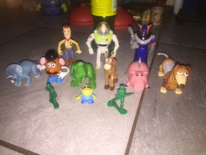 Disney Pixar toy story figures for Sale in Norwalk, CA