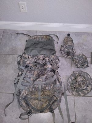 Hiking army backpack for Sale in Kissimmee, FL