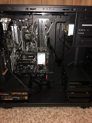 Pc case with motherboard,3 fans,cd player and power supply for Sale in Owatonna, MN