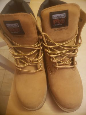 Timberland size 12m work boots for Sale in Mineola, NY