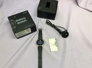 Samsung Galaxy Watch SM-R805U 46mm Silver Case Black Strap Smart Watch! Works Great! for Sale in Los Angeles, CA