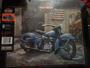 "Vintage Harley Davidson ""At Your Service"" 1000 pc puzzle for Sale in Florissant, MO"