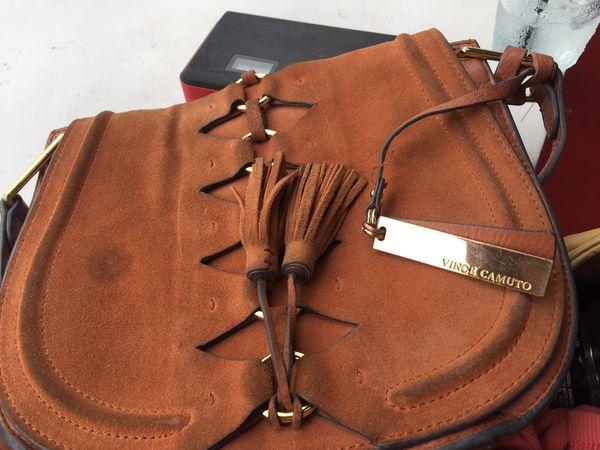 Vince Camuto Genuine Leather Handbag.