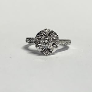 Ladies 1/2ctw Diamond 14k YG Wedding Ring Sz 5.25 for Sale in Marietta, GA