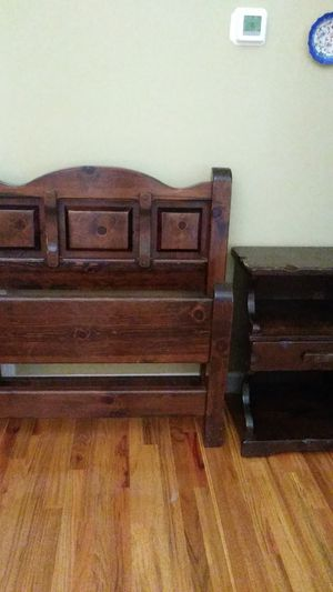 Custom make twin bed and night table for Sale in Chesnee, SC