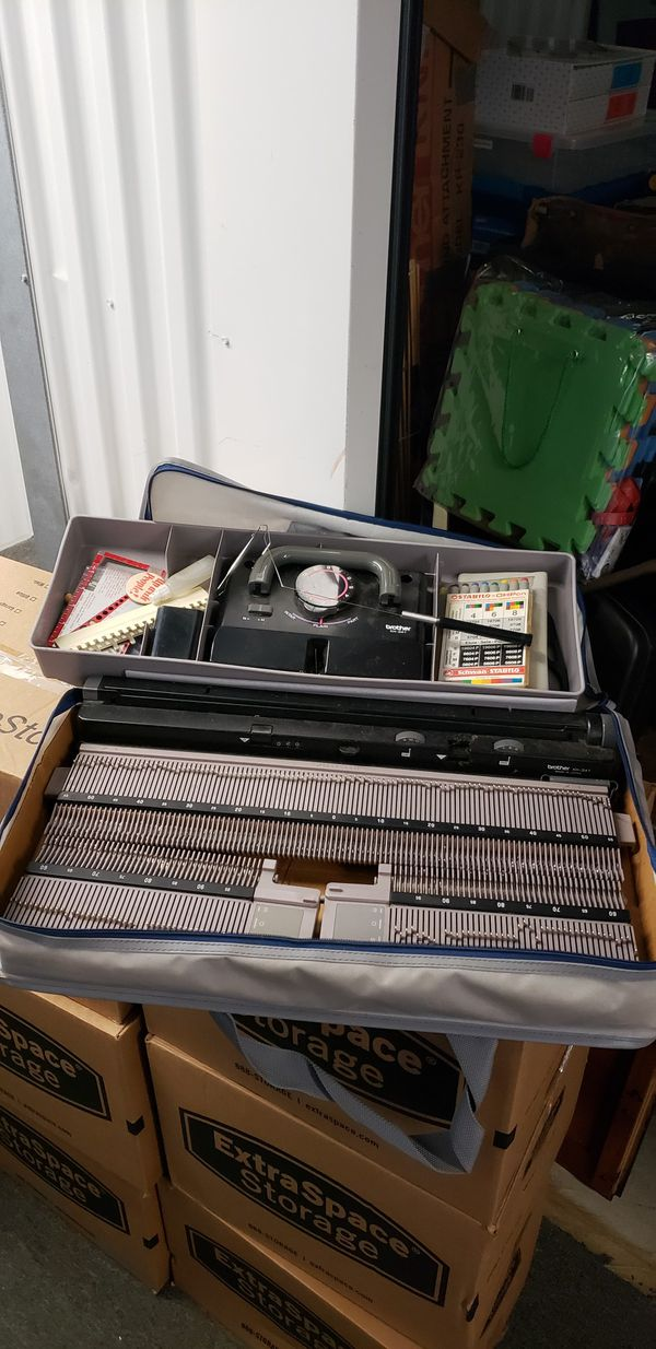 Brother KH-341 Portable Knitting Machine