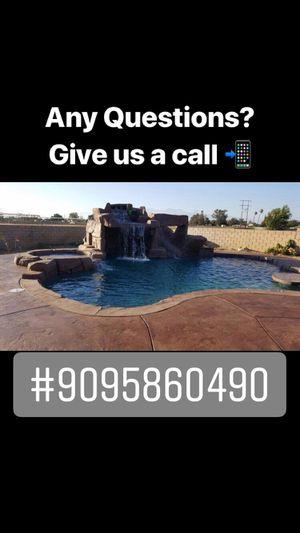 Pool excavation for Sale in Redlands, CA