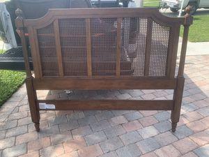 Queen bed frame + mattress (Ethan Allen) for Sale in West Palm Beach, FL