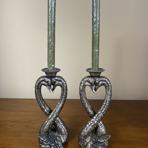 Swan candle stand for Sale in Milford Charter Township, MI