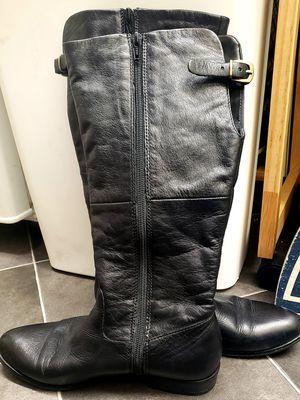 Aldo size 7.5 calf boots black for Sale in Seattle, WA