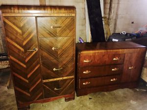 Antique armoire dresser combo for Sale in Greer, SC