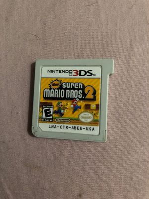 Nintendo 3 DS XL Super Mario Bro's 2 Game for Sale in Phoenix, AZ