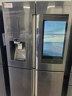 Samsung Fridge (Warranty & Delivery Included) 27.9 cu. ft. Family Hub 4-Door French Door Smart Refrigerator for Sale in Long Beach, CA
