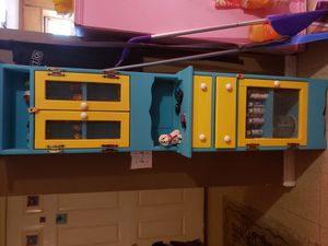 Custom made wooden country cabinet for Sale in Carrollton, GA