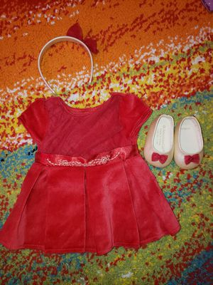 American Girl Bitty Baby Merry & and Bright Dress for Sale in Coral Gables, FL