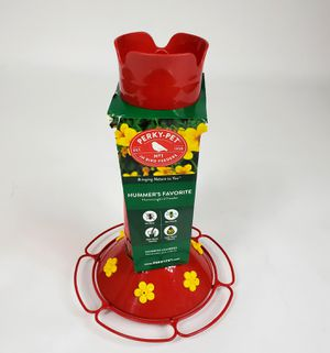 Perky Pet 409 30 Oz Red Plastic Hummer's Favorite Hummingbird Feeder for Sale in Hamburg, NY