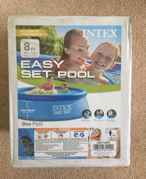 Intex 8x30 Easy Set Pool Swimming Pool for Sale in Madera, CA