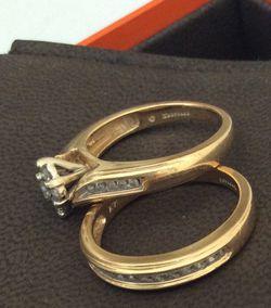 Set Wedding Rings Keepsake for Sale in Renton,  WA