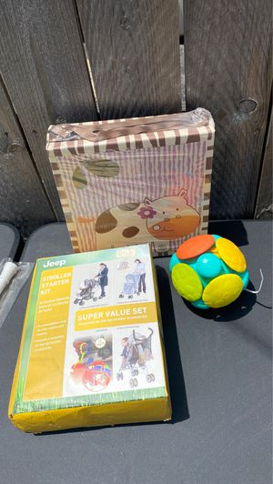 Canvas, bounce ball , stroller kit for Sale in St. Louis, MO