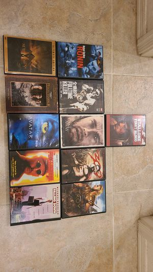11 Action Packed DVD Movies for Sale in Chandler, AZ