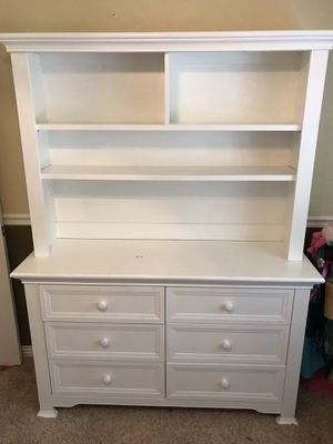 5 piece bedroom set with twin bed, Night stand, chest, dresser w/hutch. Purchased Buy Buy Baby for Sale in Clayton, CA