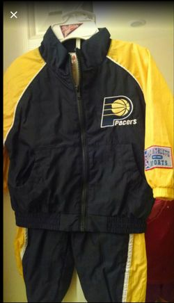 6 to 8 month baby's Pacers Basketball windbreaker & Pants for Sale in Surprise,  AZ