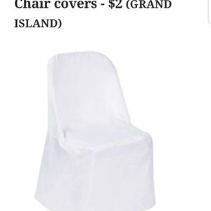 CHAIR COVERS for Sale in Grand Island, NY