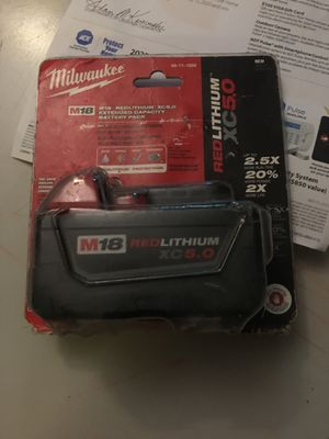 Milwaukee battery for Sale in Miami, FL