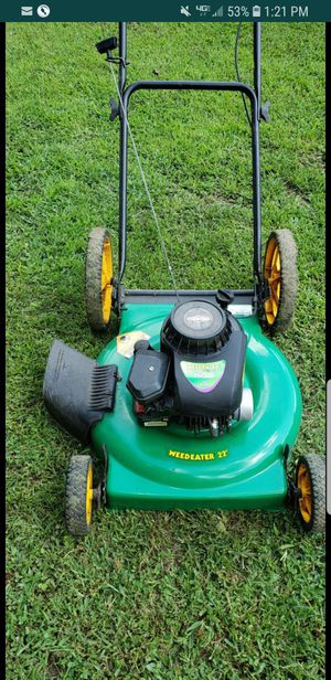 Weedeater lawnmower for Sale in Farmville, VA