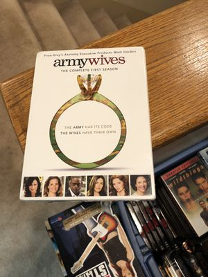 Army Wives The Complete First Season DVD Brand New Factory Sealed one 1 tv series s1 lifetime for Sale in Buena Park, CA