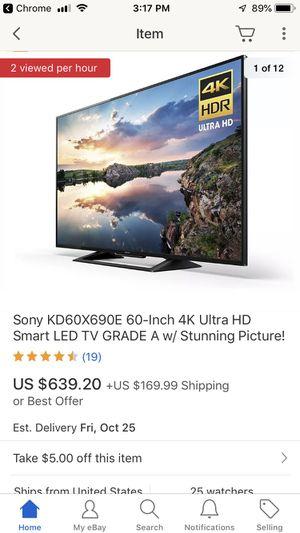 Sony Smart TV - $400 for Sale in Las Vegas, NV