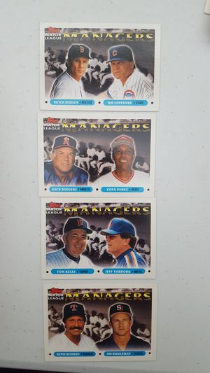 4 baseball cards. for Sale in Delray Beach, FL