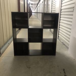 EXPRESSO 3x3 (9) cube shelving/ storage unit for Sale in Derry, NH