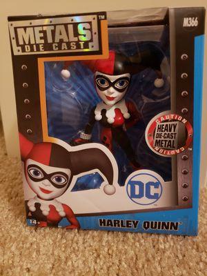 New in box die cast metals DC comic HARLEY QUINN toy figure for Sale in Las Vegas, NV