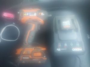 18v Rigid brushless impact driver 3 speed like new with charger and battery for Sale in Riverside, CA