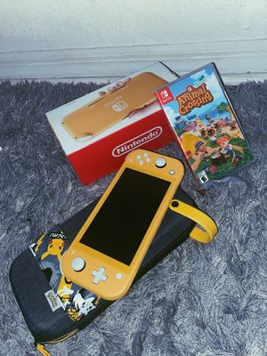Nintendo Switch Lite (ACNH, CASE, & CHARGER INCLUDED) for Sale in Kissimmee, FL