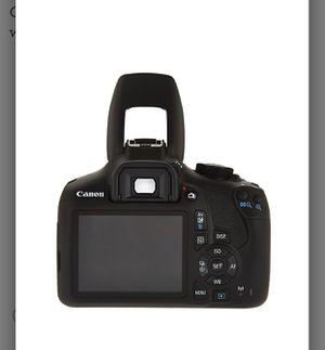 Canon Rebel T6 18MP DSLR Wi-Fi Camera w/18-55 75-300mm Lens, Bag & SD Card for Sale in McKinney, TX