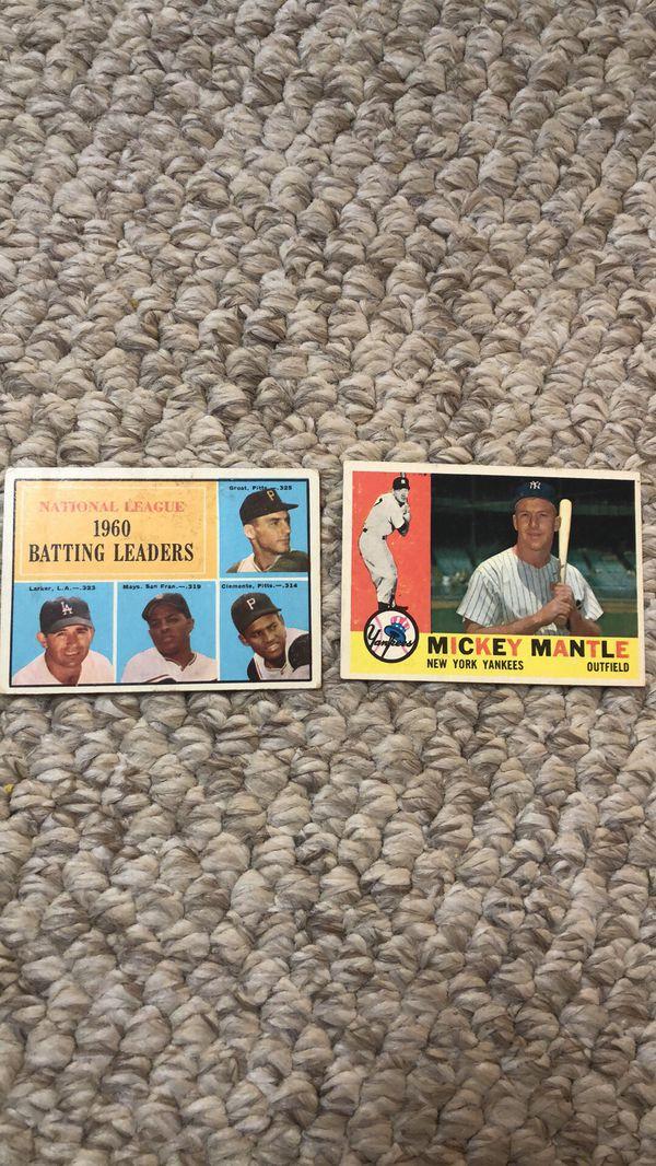 Baseball cards. 1960s-2000