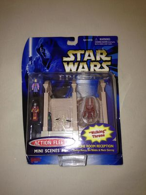 """Star Wars Episode I """"Throne Room Reception"""" Micro Machine Set Made In Year 1999 New for Sale in Reedley, CA"""