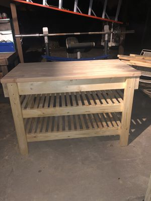 Kitchen island / carpentry for Sale in Brownsville, TX
