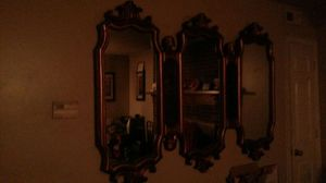 Antique mirror gold outside for Sale in Raleigh, NC