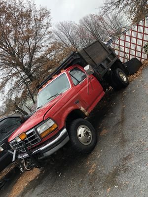 Ford F-350 dump 7.3 with plow for Sale in Lynn, MA