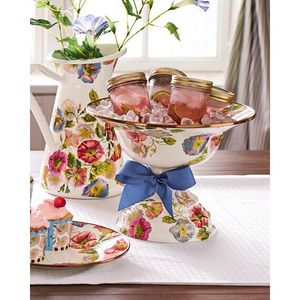 Mackenzie-Child's Morning Glory serving pieces for Sale in Houston, TX