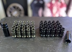 12x1.5 Steel Lug Nuts (Muteki SR48 Style) for Sale in Monrovia, CA