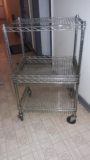 Stainless steel bakers rack for Sale in Lorain, OH