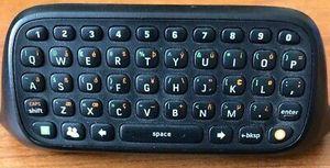 Microsoft Xbox 360 Controller Chatpad Keyboard Attachment for Sale in Wichita, KS